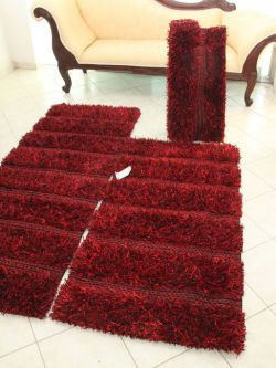 Forest Stripe Red