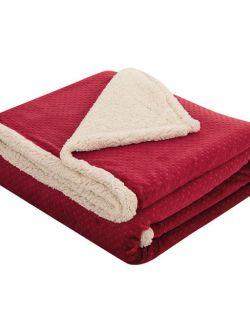 Κουβέρτα μονή Art 1713  160x240  Κόκκινο