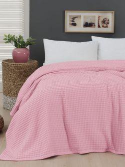 Πικέ μονή waffle Art 1990 Pink  170x240 Ροζ