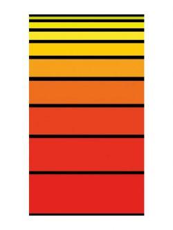 Πετσέτα θαλάσσης Art 2112 80x160 Πορτοκαλί