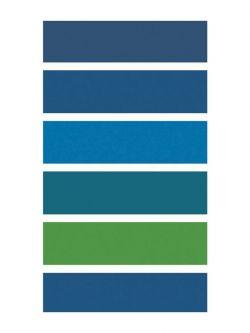Πετσέτα θαλάσσης Art 2115 80x160 Μπλε