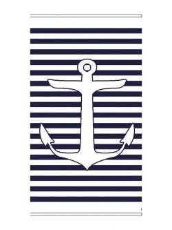 Πετσέτα θαλάσσης Art 2135 80x160 Μπλε