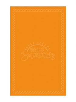 Πετσέτα θαλάσσης Art 2149 80x160 Πορτοκαλί