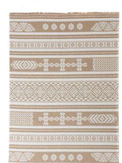 Βαμβακερό Χαλί Casa Cotton 22095 Yellow -  067x140 cm Royal Carpet