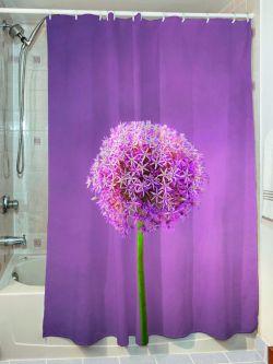 Κουρτίνα μπάνιου Smooth Art 3065 190x180 Μωβ