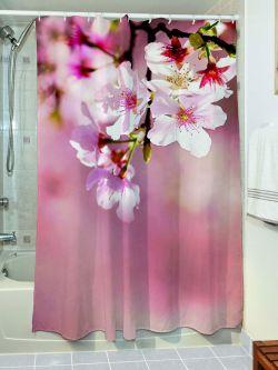 Κουρτίνα μπάνιου Wipe Art 3128 190x180 Ροζ