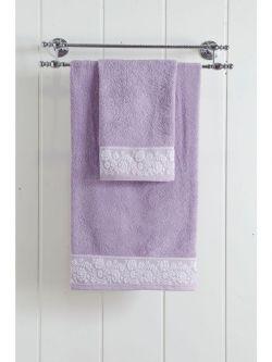 Πετσέτα μπάνιου Art 3223  70x140  Μωβ