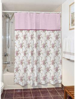 Κουρτίνα μπάνιου Bouquet Art 3240  190x180  Μωβ