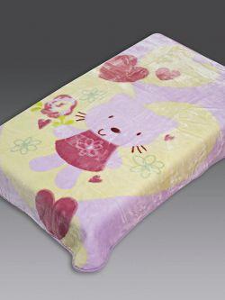 Κουβέρτα βρεφική Art 5040  110x140  Εμπριμέ
