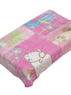 Κουβέρτα βρεφική Art 5089  110x140  Εμπριμέ