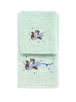 Σετ πετσέτες Art 5201  Σετ 2τμχ Βεραμάν