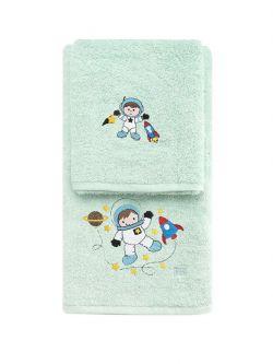 Σετ πετσέτες Art 5205  Σετ 2τμχ Βεραμάν