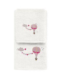 Σετ πετσέτες Art 5208  Σετ 2τμχ Εκρού