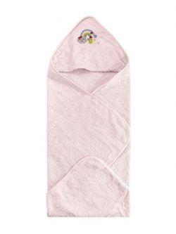 Κάπαμπουρνούζι Art 5211  0-2ετών Ροζ