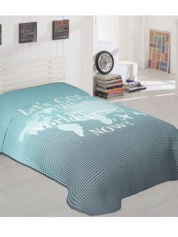Κουβέρτα μονή Art 6108  160x220  Εμπριμέ
