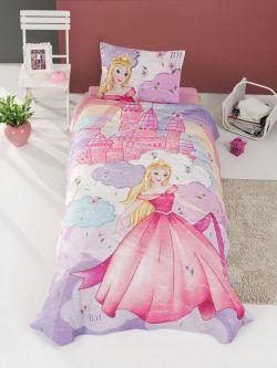 Σετ κουβερλί μονό Fairy Art 6111  160x240  Μωβ,Ροζ