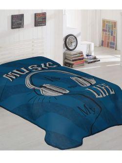 Κουβέρτα μονή Art 6116  160x220  Εμπριμέ
