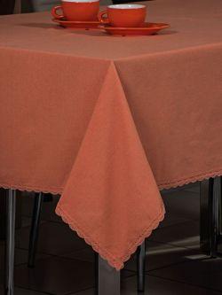 Τραπεζομάντηλο Art 8136  140x180  Πορτοκαλί