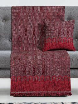 Μαξιλαροθήκη διακοσμητική Art 8346 42x42 Κόκκινο