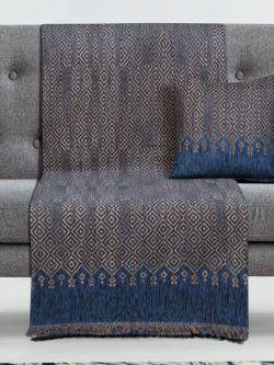 Μαξιλαροθήκη διακοσμητική Art 8347 42x42 Μπλε