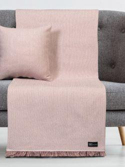 Μαξιλαροθήκη διακοσμητική Art 8361 45x45 Ροζ