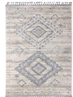 Xαλί La Casa 7733A L. Grey White -  067x140 cm Royal Carpet