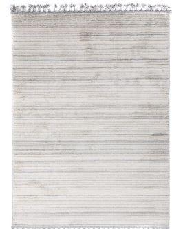 Xαλί La Casa 7887C White L. Grey -  067x140 cm Royal Carpet