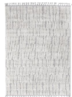 Xαλί La Casa 9924A White L. Grey -  133x190 cm Royal Carpet