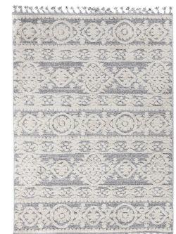 Xαλί La Casa 9925Α White L. Grey -  133x190 cm Royal Carpet